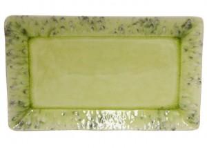 Madeira Rectangular Tray Lemon Green