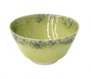 Madeira Salad Serving Bowl Lemon Green