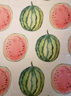 Printed Watermelon Table Topper