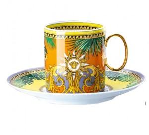 Versace Jungle Animalier Coffee Cup & Saucer