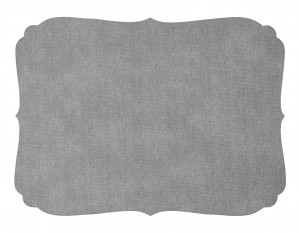 Curly Placemat Gray