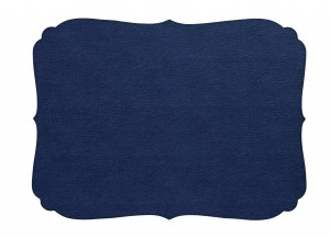 Curly Placemat Navy
