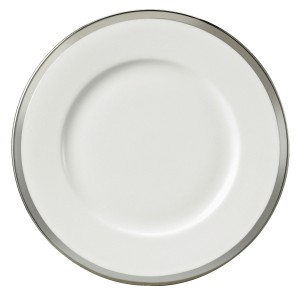 Diana Black Salad Plate