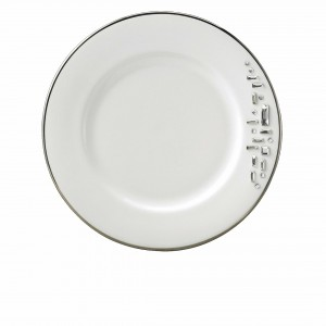 Diana Black Bread and Butter Plate