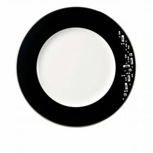 Diana Black Dinner Plate