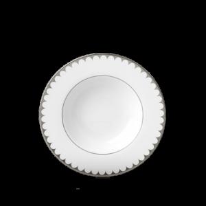 Aegean Filet Platinum Soup Plate