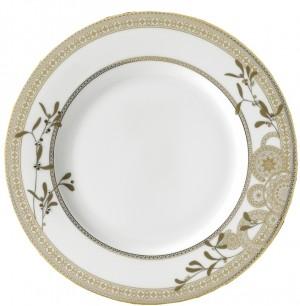 Golden Leaves Dinner Plate
