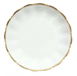 Corail Gold Deep Plate