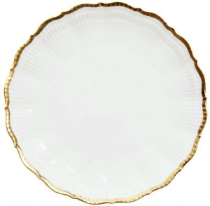 Corail Gold Dinner Plate