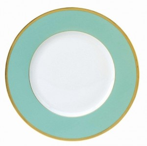 Les Indiennes Presentation Plate Turquoise
