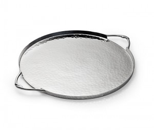 Infinity Round Tray with Handles