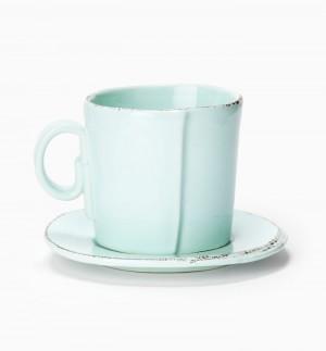 Lastra Aqua Espresso Cup and Saucer