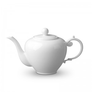 Aegean White Teapot