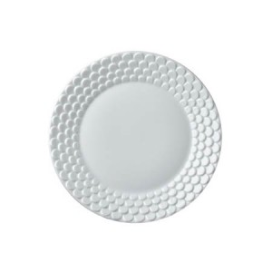 Aegean White Sculpted Bread and Butter Plate