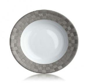 Byzanteum Platin Soup Plate