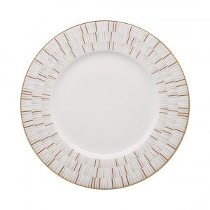 Luminous Gold Dinner Plate