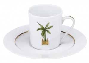 Maldives Demitasse Cup and Saucer