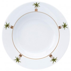 Maldives Rim Soup Plate