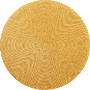 Round Placemat in Marigold