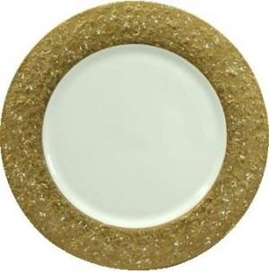 Metropolitan Gold/White Charger