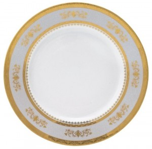 Orsay Powder Blue Service Plate