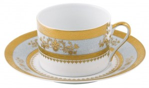 Orsay Powder Blue Tea Cup and Saucer