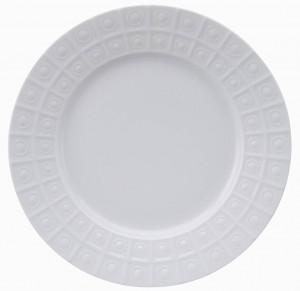 Osmose White Dinner Plate