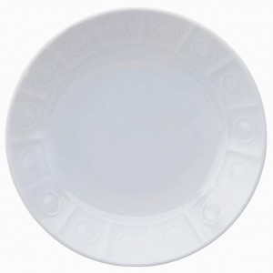 Osmose White Soup Cereal Plate