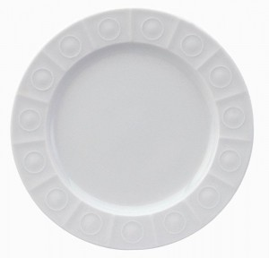 Osmose White Bread and Butter Plate