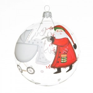 Old St. Nick Baby's First Ornament