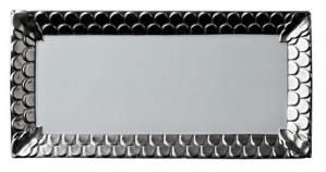 Aegean Platinum Rectangular Platter