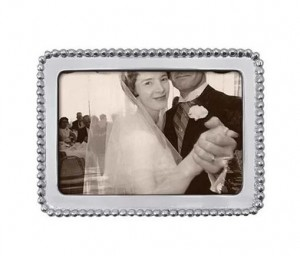 Pearled 4 x 6 Picture Frame