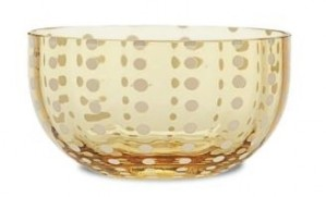 Perle Amber Small Bowl