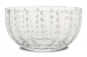 Perle Clear Small Bowl