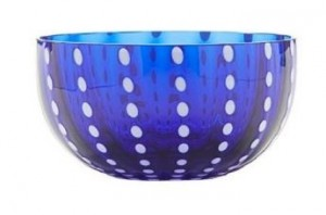 Perle Blue Small Bowl