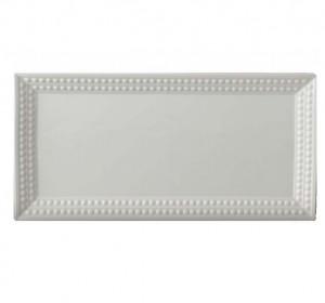 Perlee White Rectangular Platter