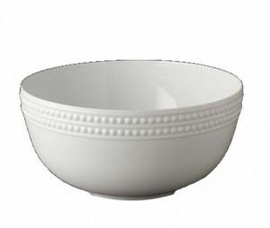 Perlee White Serving Bowl