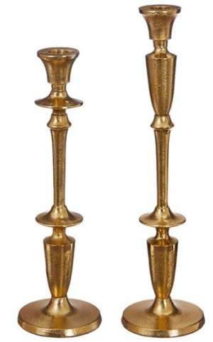 Assorted Sizes Gold Metal Taper