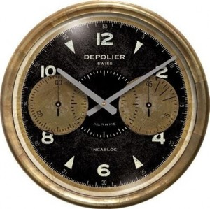 Chronograph Black Clock