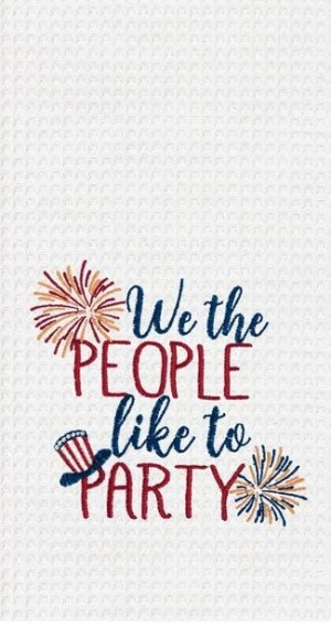 We the People Kitchen Towel