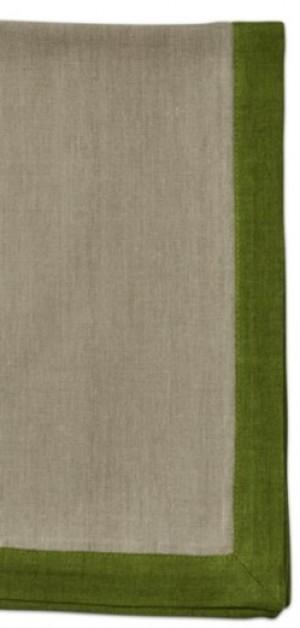 Autumn Border Napkin Flax