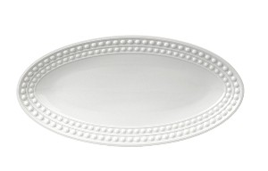 Perlee White Small Oval Platter
