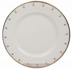 Princess Gold Bread and Butter Plate