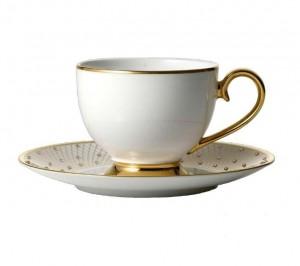 Princess Gold Teacup and Saucer