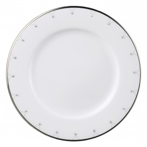 Princess Platinum Bread and Butter Plate