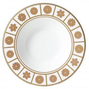 Rich White Soup Plate