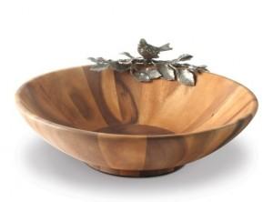 Song Bird Large Salad Serving Bowl