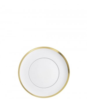 Domo Gold Bread and Butter Plate