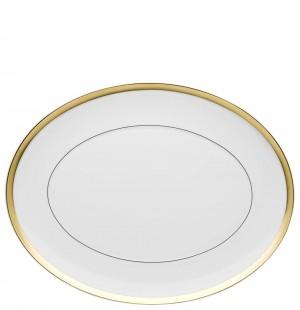 Domo Gold Oval Platter