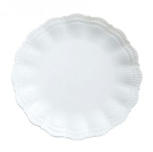 Corail White Dessert Plate